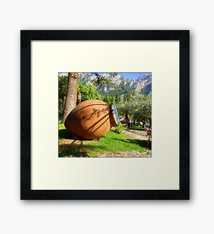 The Terracotta Pot..............................Mallorca Framed Print