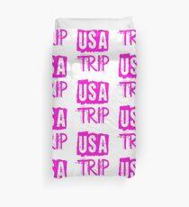 USA Trip Duvet Cover