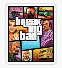 Breaking Bad - Game Cover stlye Sticker