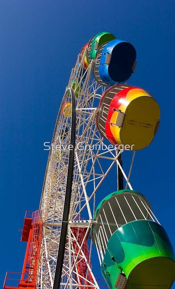 Luna Park Ferris Wheel by Steve Grunberger