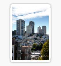 Downtown San Francisco  Sticker