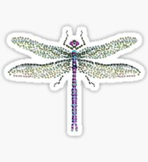Bedazzled Dragonfly Sticker
