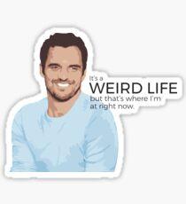 Nick Miller Life Sticker