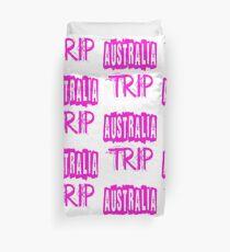 Australia Trip Duvet Cover