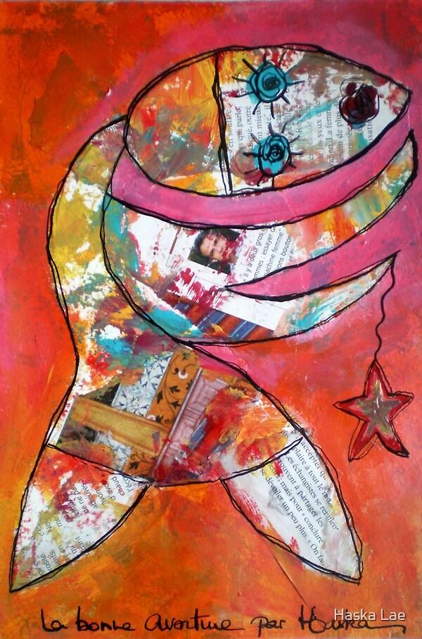 La Bonne Aventure (on paper - Original Sold out) by Haska Lae