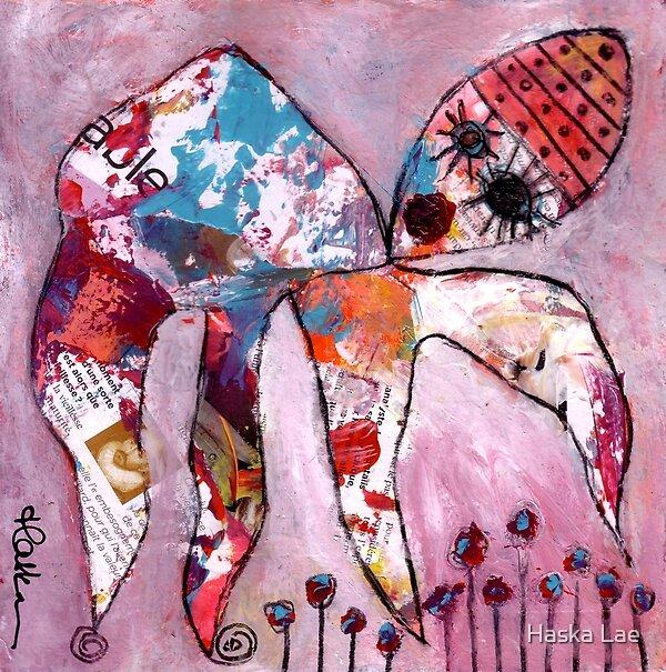 La cueillette (original paper sold out) by Haska Lae