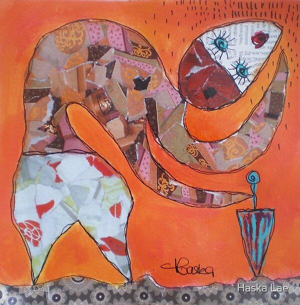 La Pluie (original paper sold out) by Haska Lae