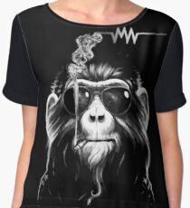 Arctic Waves - Alex Turner - Smoking Monkey  Chiffon Top