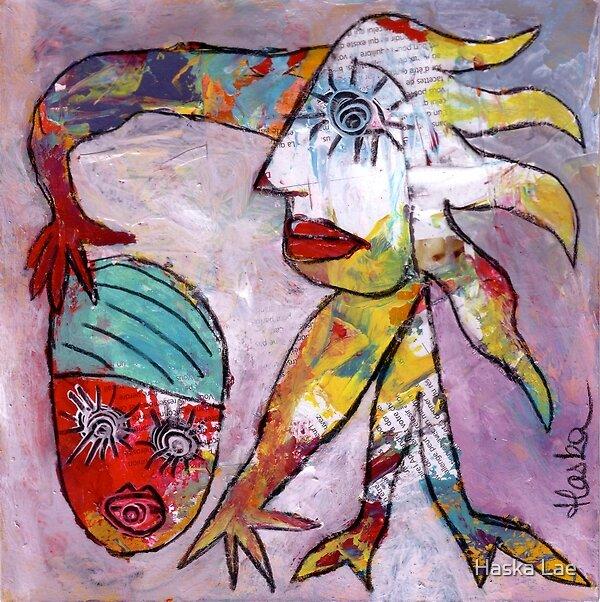 Le pouvoir (original paper sold out) by Haska Lae