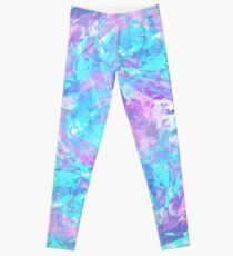 Iridescent Blue Leggings