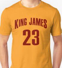 King James Jersey Script 2 T-Shirt