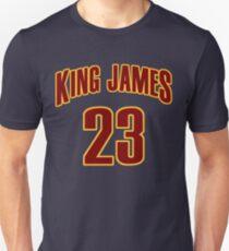 King James Jersey Script 3 Unisex T-Shirt