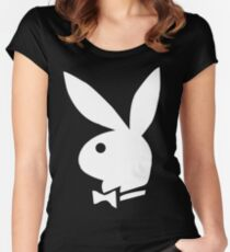 Playboy bunny Women's Fitted Scoop T-Shirt