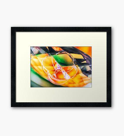 Light Rider Framed Print