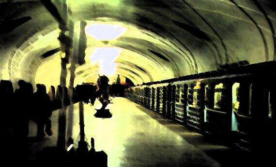 NYC Train Station by JacobThomasMichael