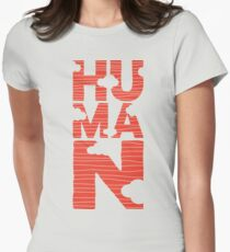 HUMAN Women's Fitted T-Shirt