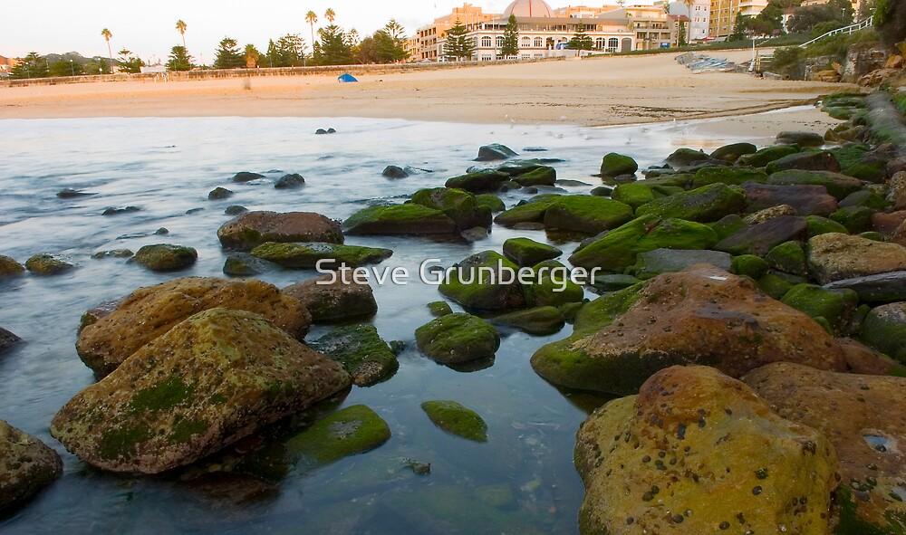 Coogee Beach at Sunrise by Steve Grunberger