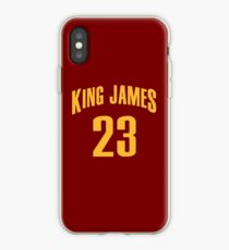 King James Jersey Script 1 iPhone Case