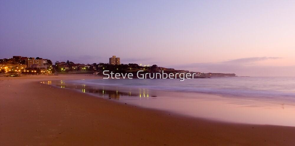 Sunrise at Coogee Beach by Steve Grunberger