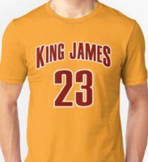 King James Jersey Script 4 Unisex T-Shirt