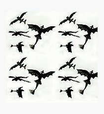 Toothless Pattern Photographic Print