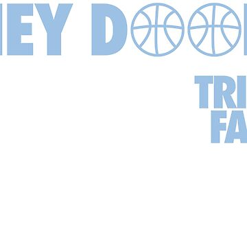 Hey DOOK. Have A Nice Trip. See You Next Fall. (Light Blue/White) by Pelicaine