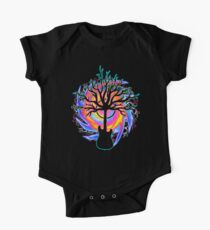 """Psychedelic Sonic Cyclone"" ( surreal guitar art ) Kids Clothes"