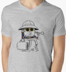 Roberto Sponge - Light Men's V-Neck T-Shirt