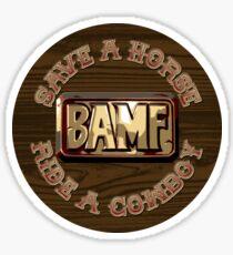 McCree - Save A Horse, Ride A Cowboy Sticker