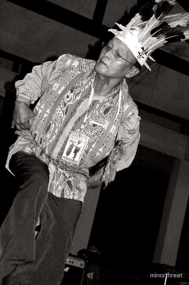 Iban Man Dancing by minorthreat