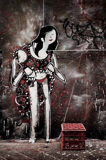 Laneway Flamenco by Enrico Bettesworth
