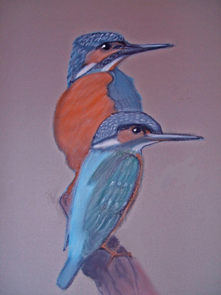 kingfishers by Catherine Brock
