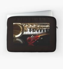 Piano, Saxophone and Violin Laptop Sleeve