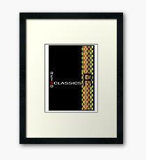 Retro Classics Framed Print