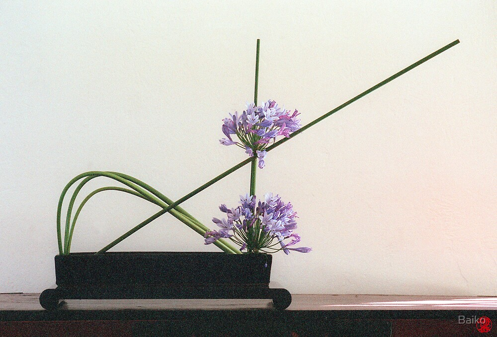 Ikebana-040 by Baiko