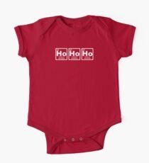 Ho Ho Ho - Christmas - Santa Claus - Periodic Table Kids Clothes