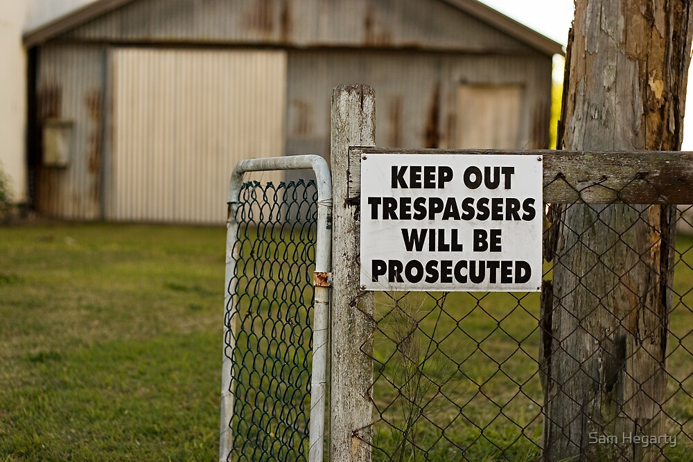 Keep Out by Sam Hegarty
