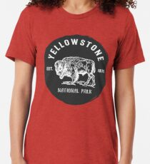 Yellowstone National Park Tri-blend T-Shirt