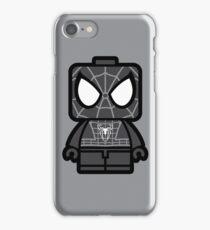 Black Spidey Chibi Man iPhone Case/Skin