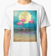 Pretty Flamingo's. Classic T-Shirt