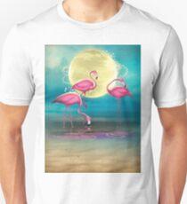 Pretty Flamingo's. Unisex T-Shirt
