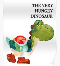 The Very Hungry Dinosaur (Text) Poster