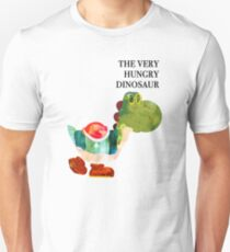 The Very Hungry Dinosaur (Text) Unisex T-Shirt