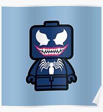 Venom Chibi Poster