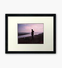 A tranquil scene Framed Print