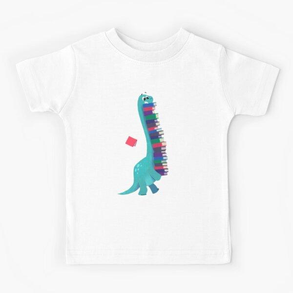 BOOK DINOSAURS 01 Kids T-Shirt