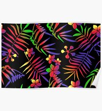 Tropical T-Shirt - Colorful Poster