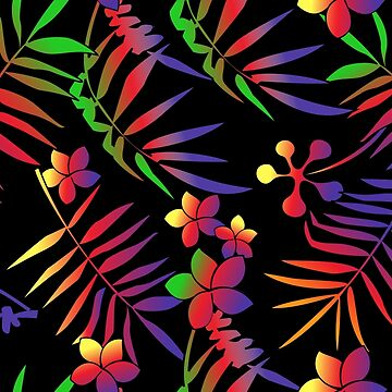 Tropical T-Shirt - Colorful by ByStreetDesigns