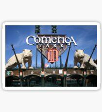 Detroit Tigers Comerica Park Sticker
