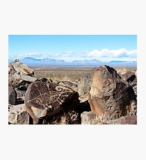 Desert Art Photographic Print